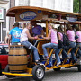 Beer party bike, Amsterdam