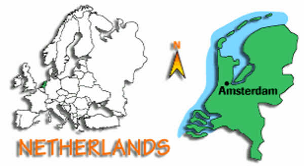 Where is the Netherlands