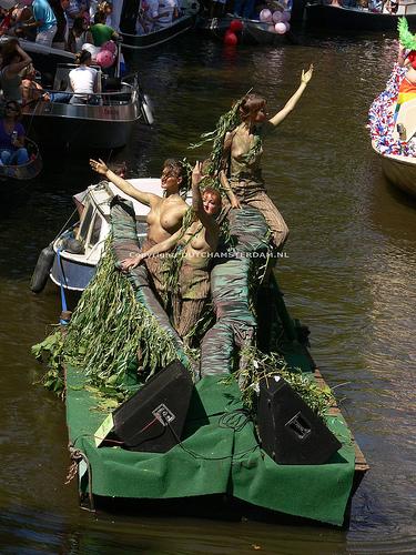 Amsterdam 2007 Gay Pride Parade
