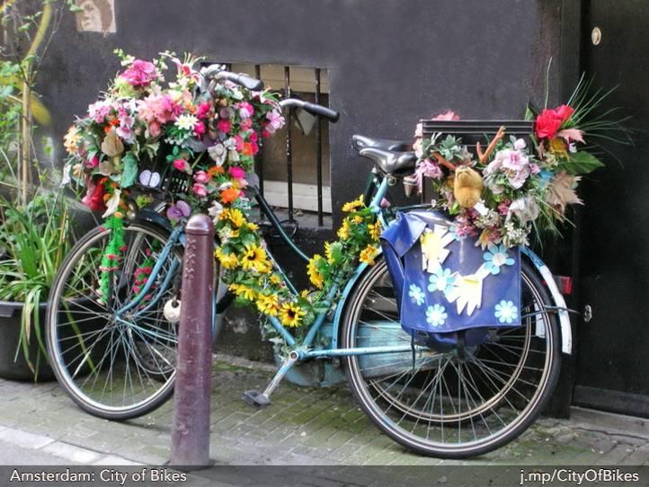 Colorful Amsterdam Bike