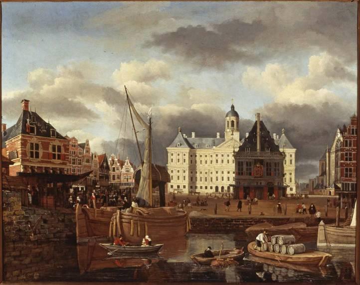 Amsterrdam Royal Palace