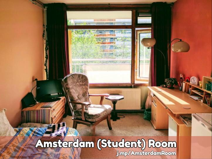 rooms in Amsterdam