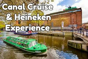 Heineken Brewery tour and canal cruise
