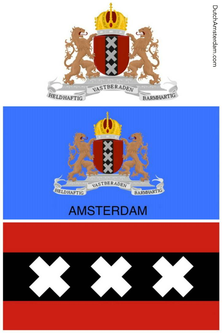 Coat Of Arms Of The City Of Amsterdam