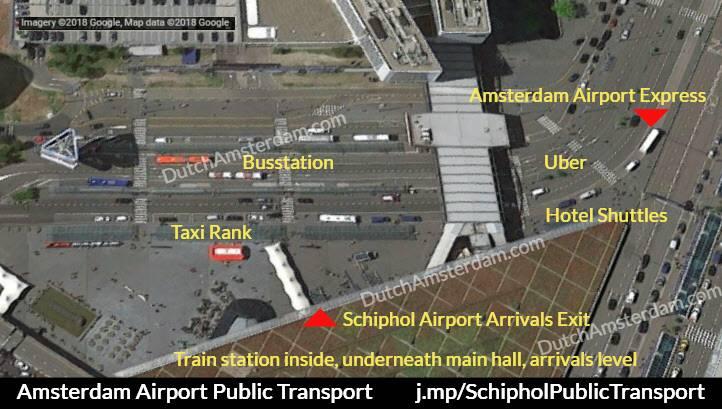 Schiphol public transport