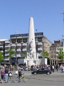 National Monument at Dam Square, Amsterdam