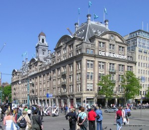 Bijenkorf Warehouse at Dam Square, Amsterdam