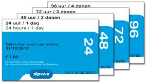 Amsterdam public transport tickets for How much does a hillside tram cost
