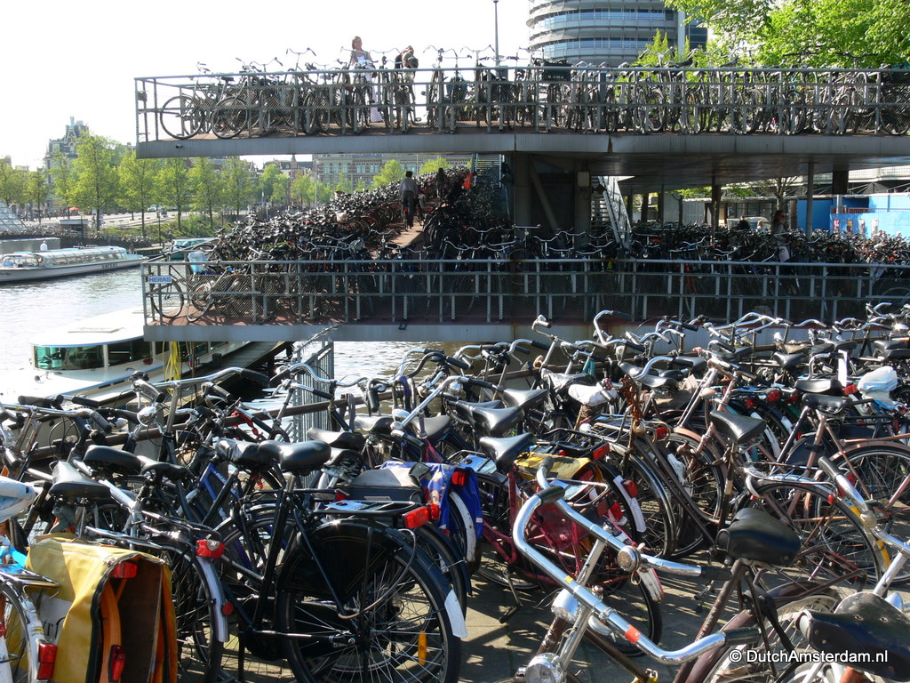 Amsterdam May Charge Parking Fees For Bikes