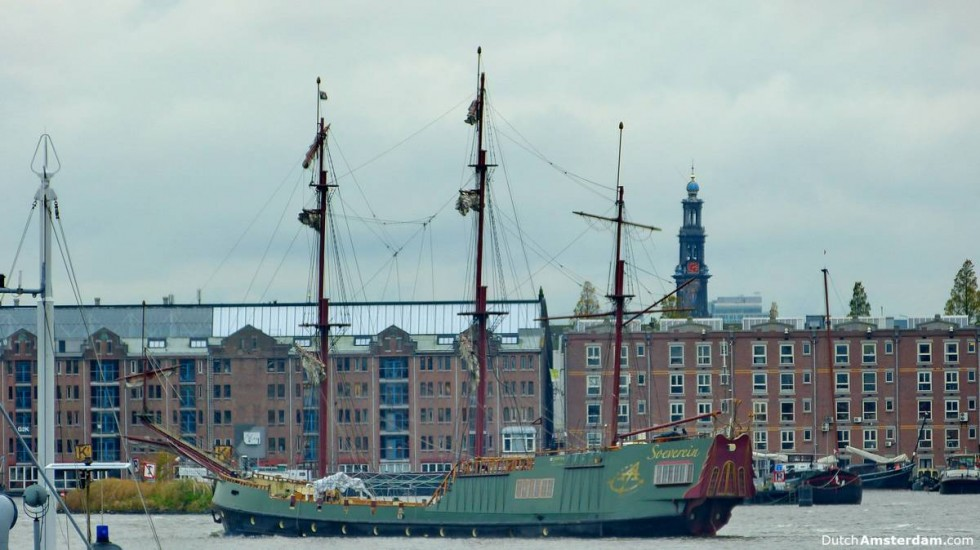 Overcast skies are common in Amsterdam during the month of November