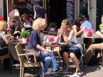 Alfresco Dining in Amsterdam