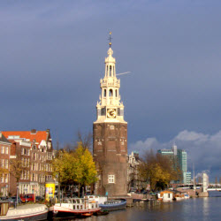 Amsterdam Oude Schans in November