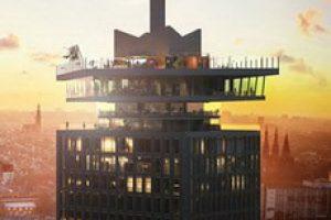 Amsterdam observation deck
