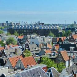Amsterdam panoramic views