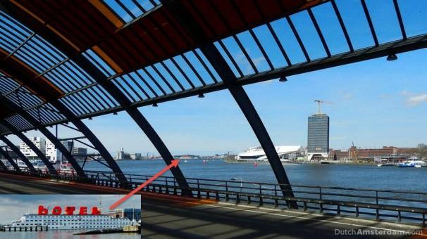 location of Botel, Amsterdam