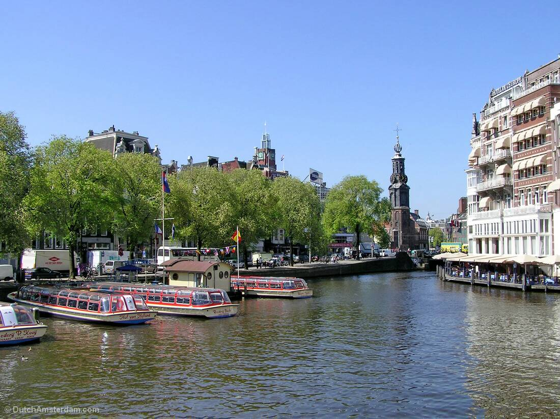 Touring The Canals Amsterdam