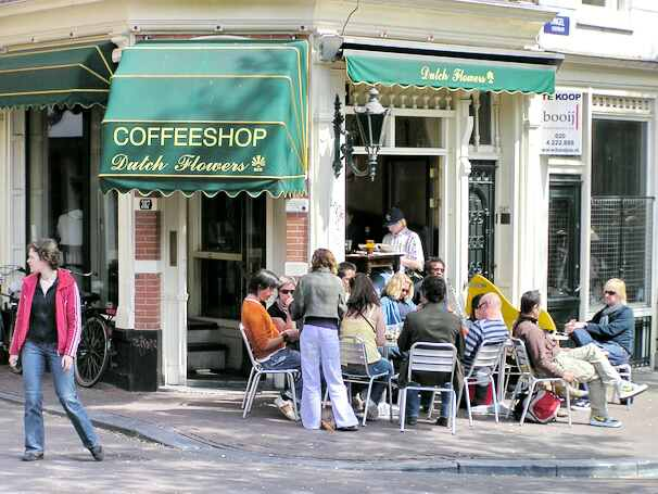 Coffeeshop Dutch Flowers, Singel,