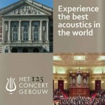 Concertgebouw (concert hall) in Amsterdam