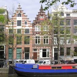 Houseboat, Prinsengracht, Amsterdam