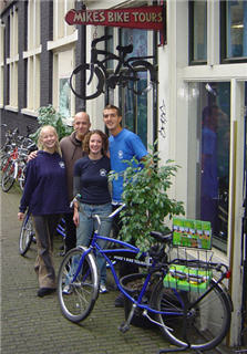 Mike's Bike Tours and bike rental in Amsterdam
