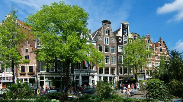 17th and 18th century houses along Prinsengracht, Amsterdam