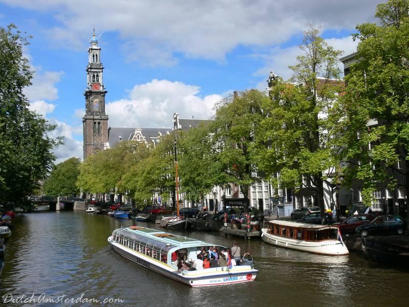 Prinsengracht with Westertoren