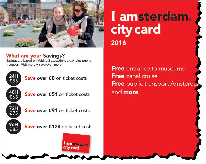 amsterdam card worth it
