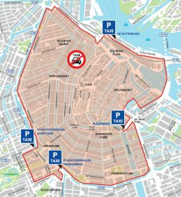 Where to catch a taxi on King's Day