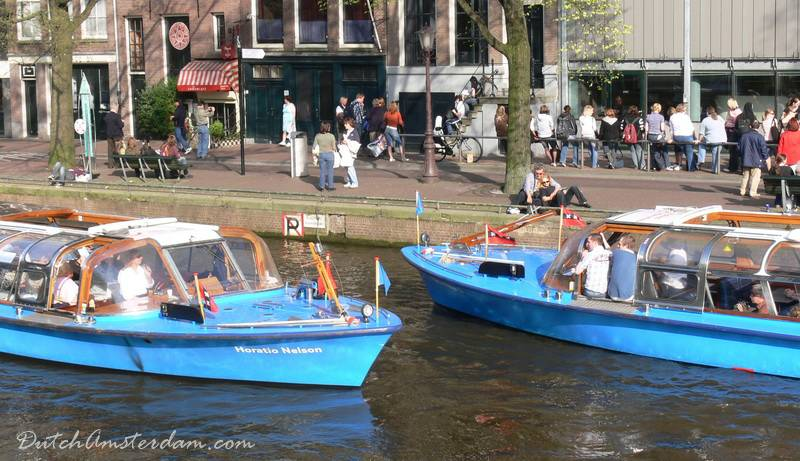 Amsterdam Canal Tour Boats