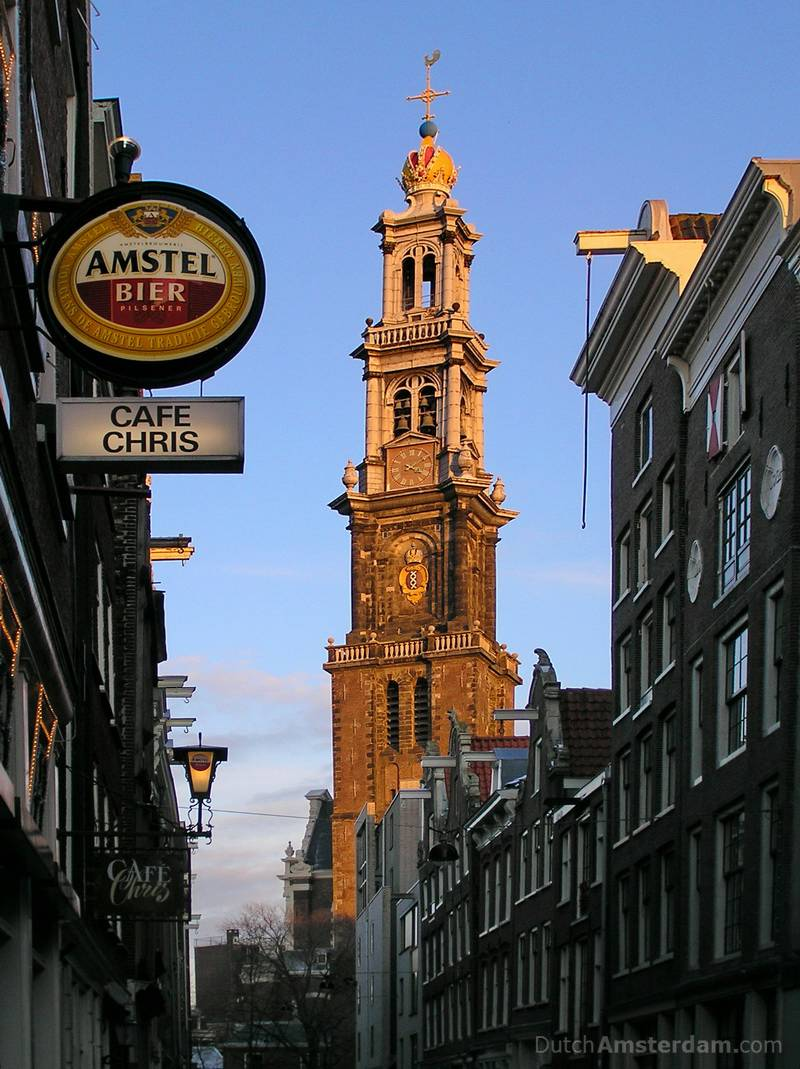 oldest cafe in the jordaan district of amsterdam