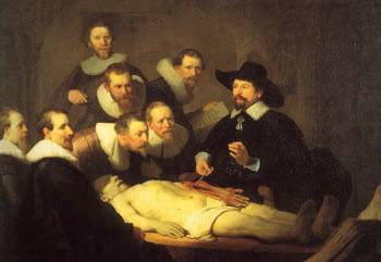 The Anatomy Lesson of Dr. Tulp, Rembrandt