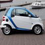 Amsterdam car2go electric vehicle sharing program