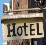 Amsterdam hotel sign