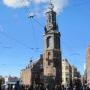 Muntplein and Munt Tower in Amsterdam