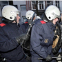 Amsterdam riot police