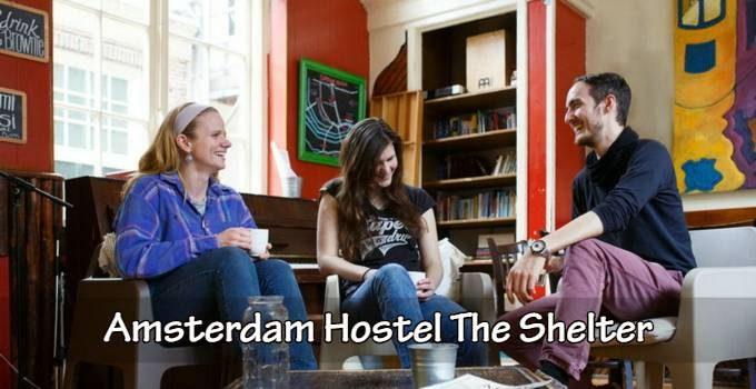 Amsterdam hostel The Shelter