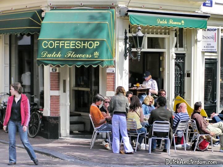 Amsterdam coffeeshop marijuanacafe