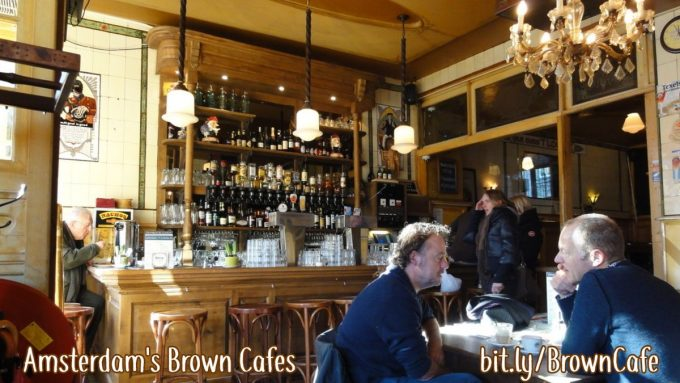 Amsterdam brown cafe