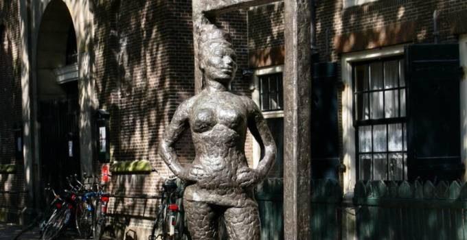 Belle statue, Amsterdam