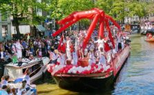 gay pride parade amsterdam