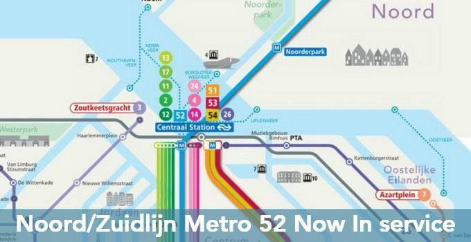 Amsterdam Noord/Zuidlijn metro