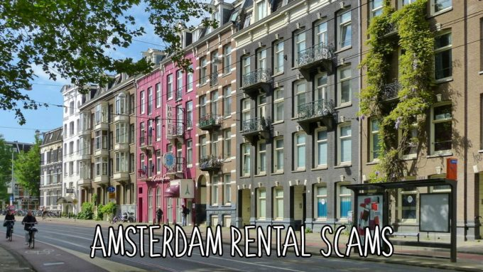 Amsterdam rental scams