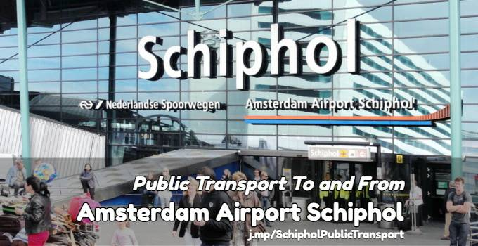 how to get from schiphol to amsterdam