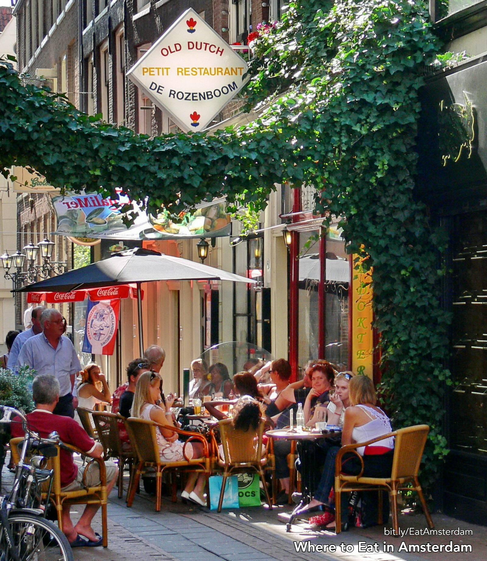 eating amsterdam