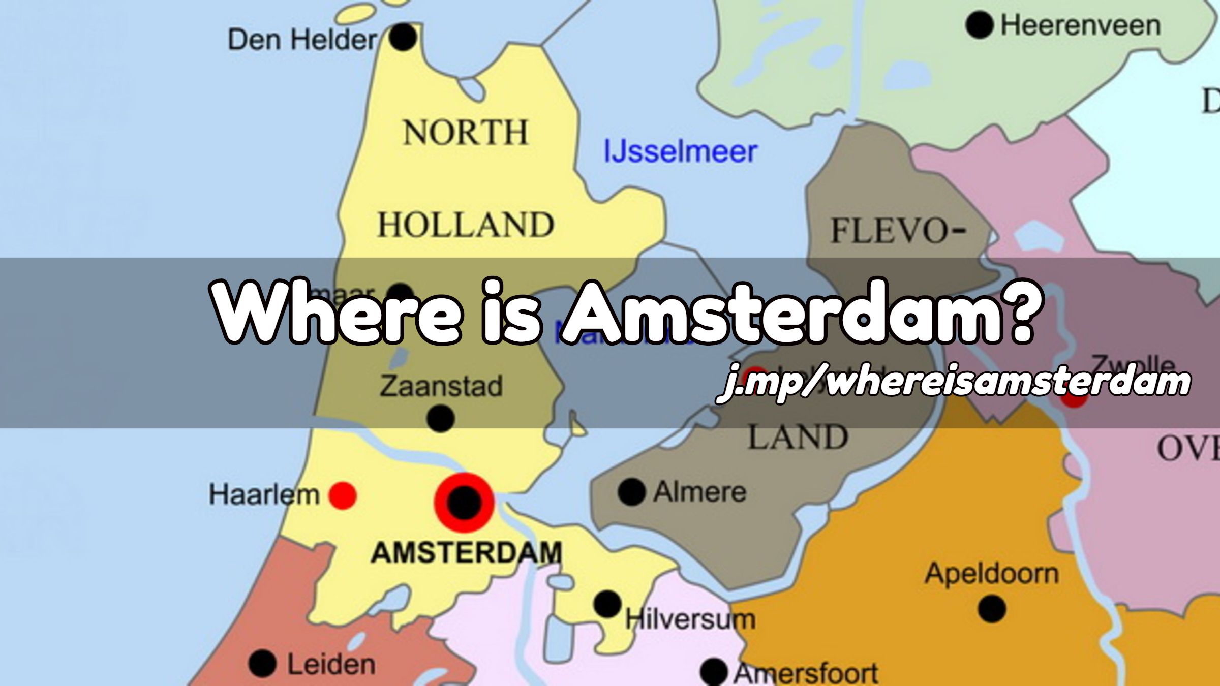 amsterdam map of europe Where is Amsterdam?   Amsterdam Tourist Information