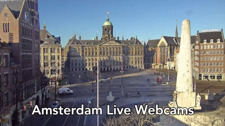 Amsterdam webcams