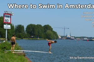 Swimming in Amsterdam