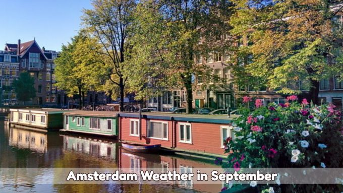 Amsterdam weather in September