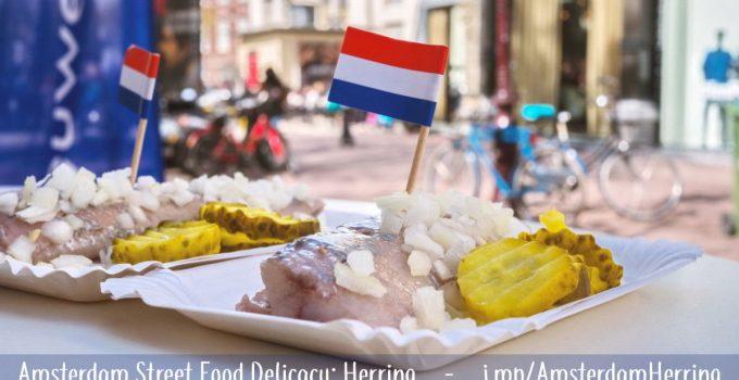 Herring is Amsterdam's favorite street food