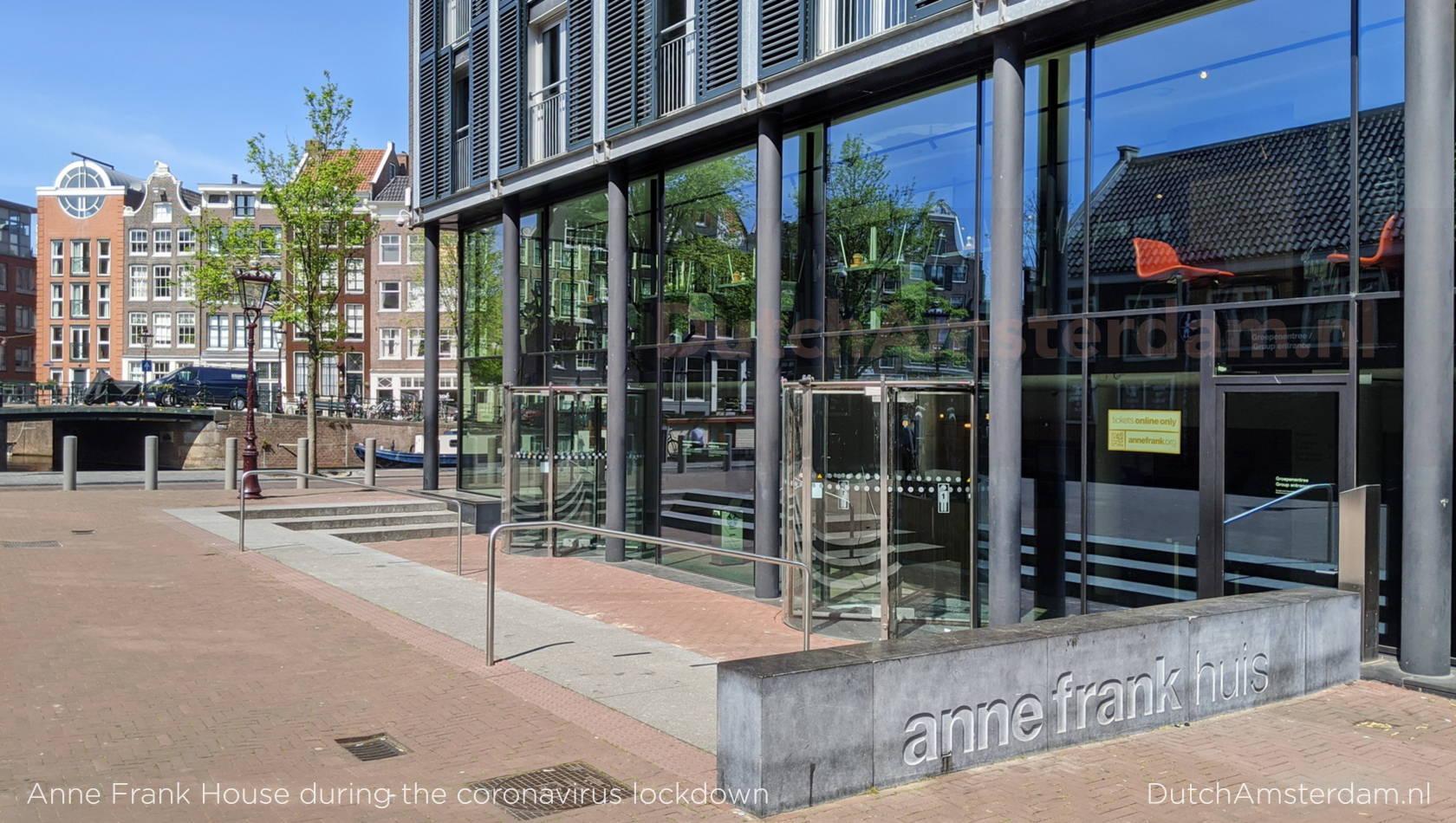 Anne Frank House during the Coronavirus crisis